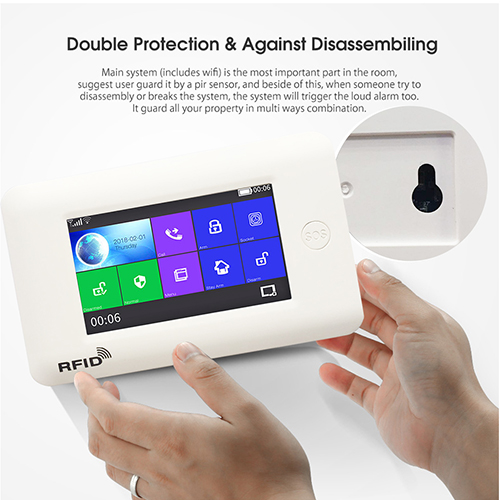 TA03 wifi home alarm systems