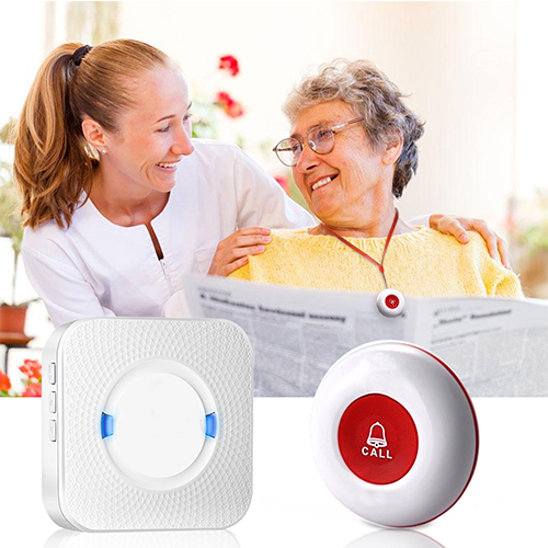 CC01 caregiver pager,wireless caregiver pager for elderly
